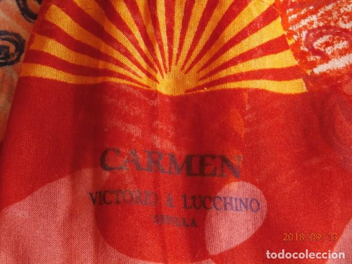 Segunda Mano: PAÑUELO CHAL 'CARMEN' DE VICTORIO & LUCCHINO - Foto 2 - 133392194
