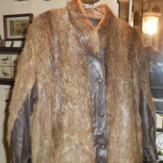 Segunda Mano - chaqueta o cazadora pelo de nutria y piel - 133677886
