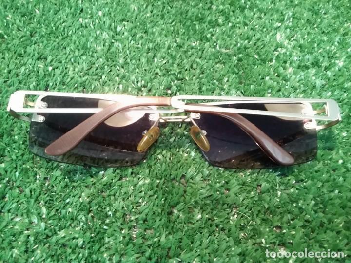 Segunda Mano: Gafas sol unisex no graduadas vintage ( MARION RAMM- modelo NA UND?) GERMANY. - Foto 2 - 133819702