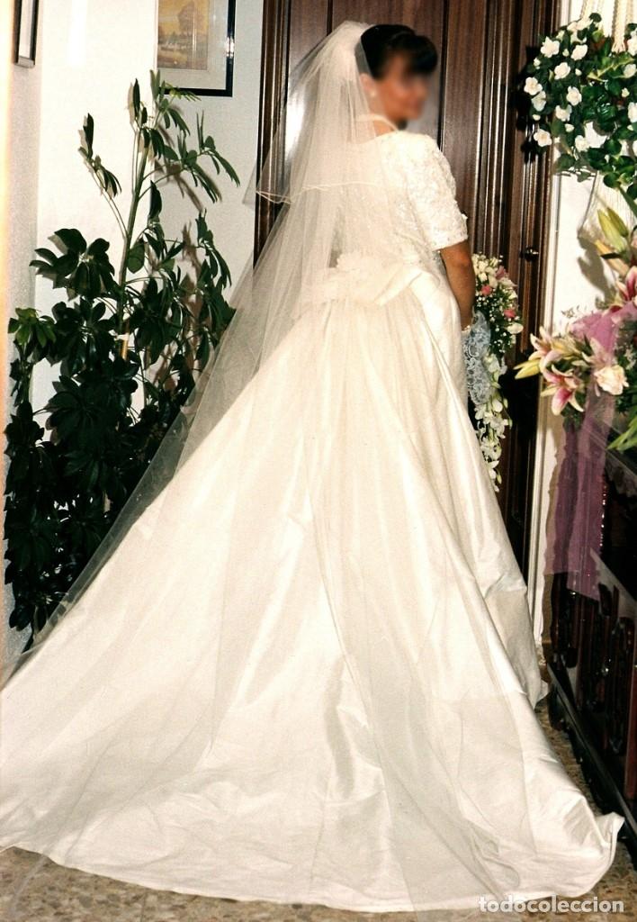 vestido de novia talla 42 - pronovias - en seda - comprar ropa y