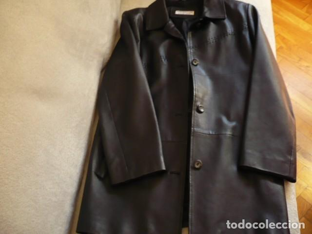 chaqueta tres cuartos piel fina color negro t. - Kaufen Kleidung und ...