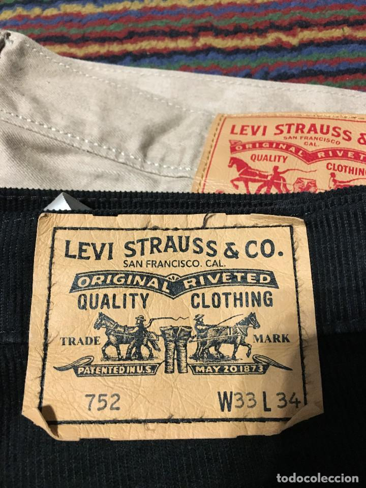 Y W33 L34 Levi's Negrol 752 Ropa Pana Pantalon Comprar Levis dzpYqXX