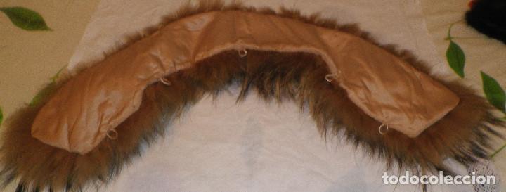 Segunda Mano: cuello pelo de zorro forrado y con enganches para poner en abrigo o chaqueta - Foto 2 - 137462014