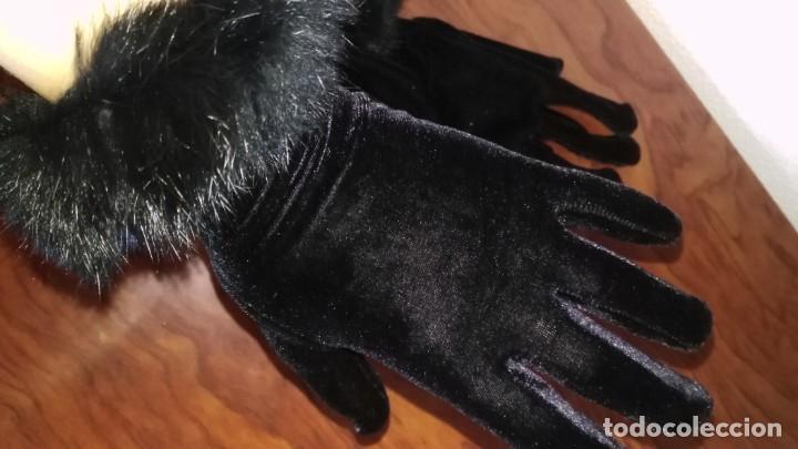 Segunda Mano: Guantes de terciopelo y piel - Foto 2 - 137652742