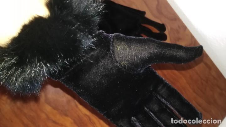 Segunda Mano: Guantes de terciopelo y piel - Foto 3 - 137652742