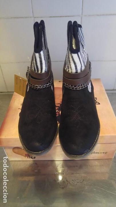 Segunda Mano: botas de mujer- nuevas con su caja- numero 39, genero de ante- - Foto 2 - 137885726