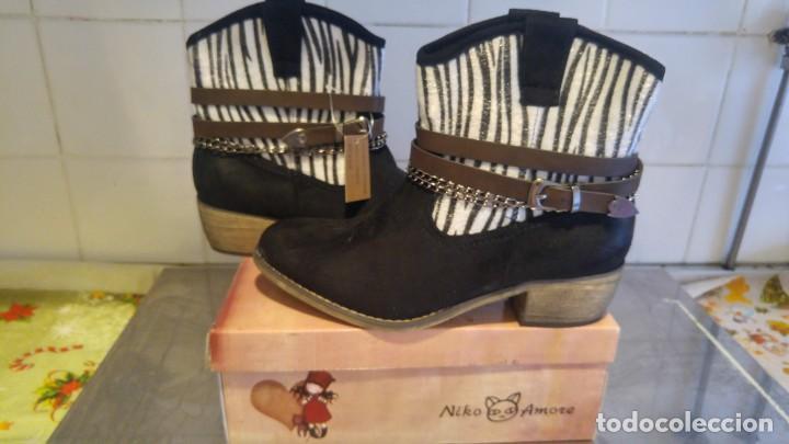 Segunda Mano: botas de mujer- nuevas con su caja- numero 39, genero de ante- - Foto 3 - 137885726