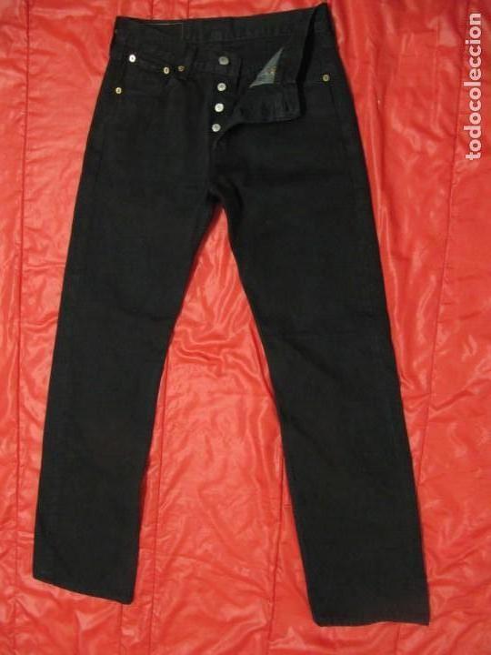Segunda Mano: Pantalon Levi Strauss 501 W28 L32 Hombre Men NEGRO - Foto 6 - 138887402