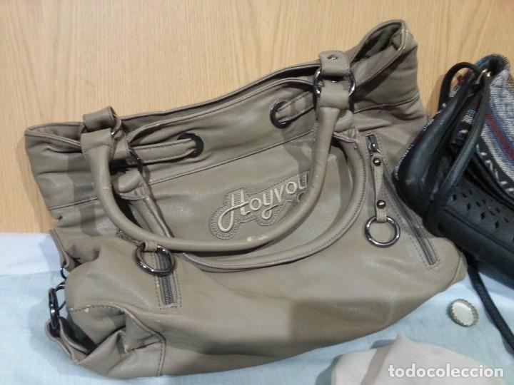 Segunda Mano: Bolsos de mujer. Vintage. Pareja de bolsos viejitos. - Foto 2 - 139432858