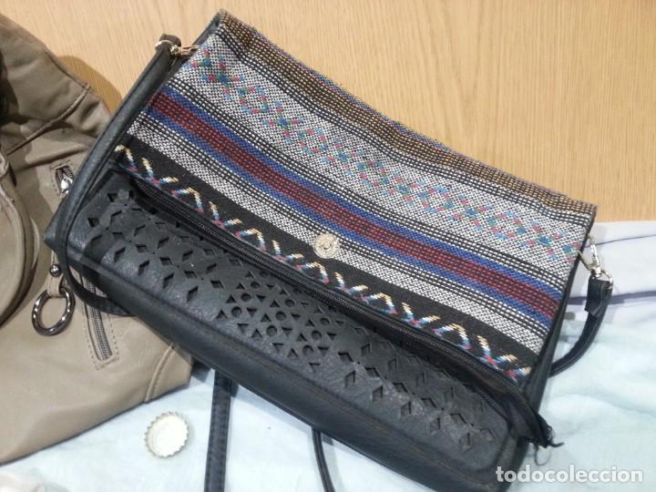 Segunda Mano: Bolsos de mujer. Vintage. Pareja de bolsos viejitos. - Foto 3 - 139432858