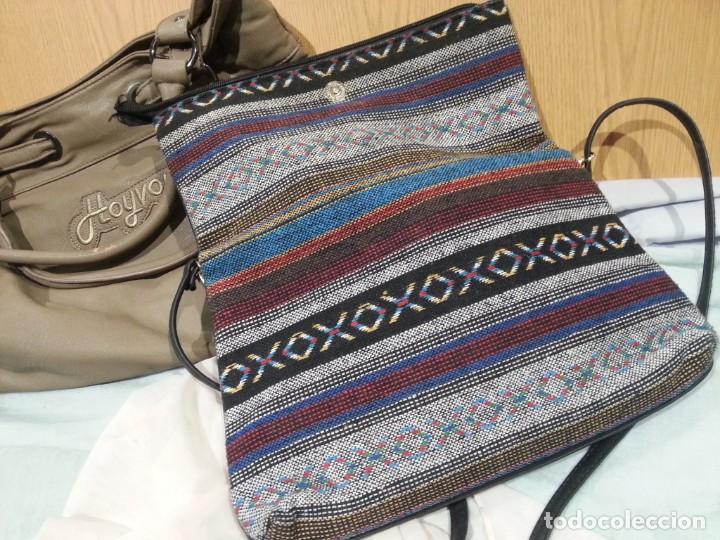 Segunda Mano: Bolsos de mujer. Vintage. Pareja de bolsos viejitos. - Foto 9 - 139432858