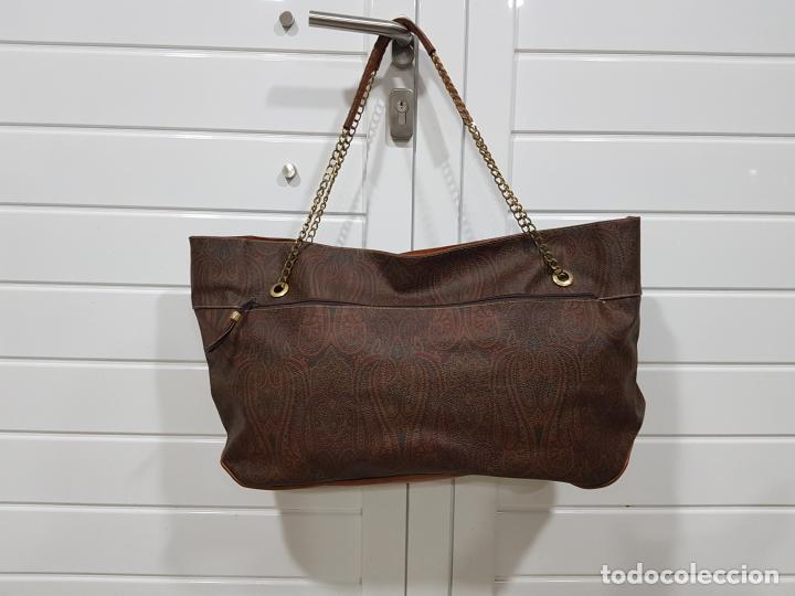 Segunda Mano: Bolso antiguo de mujer de Piel, bolso retro de muy buena calidad. - Foto 2 - 139737302