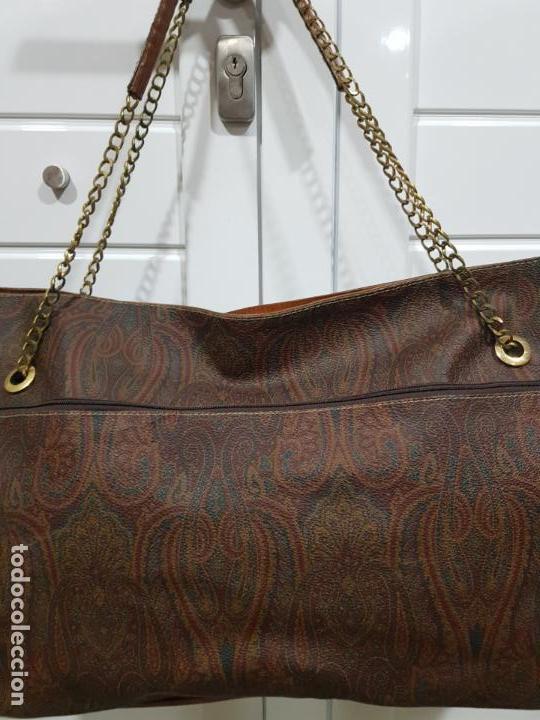 Segunda Mano: Bolso antiguo de mujer de Piel, bolso retro de muy buena calidad. - Foto 3 - 139737302