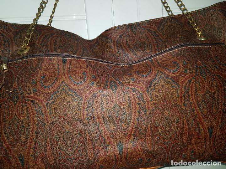Segunda Mano: Bolso antiguo de mujer de Piel, bolso retro de muy buena calidad. - Foto 4 - 139737302