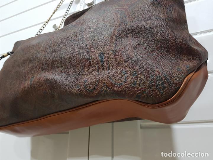 Segunda Mano: Bolso antiguo de mujer de Piel, bolso retro de muy buena calidad. - Foto 8 - 139737302