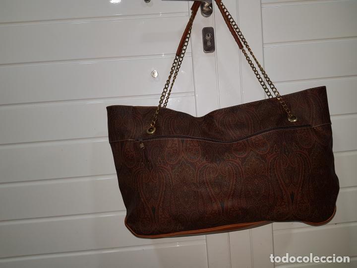 Segunda Mano: Bolso antiguo de mujer de Piel, bolso retro de muy buena calidad. - Foto 10 - 139737302