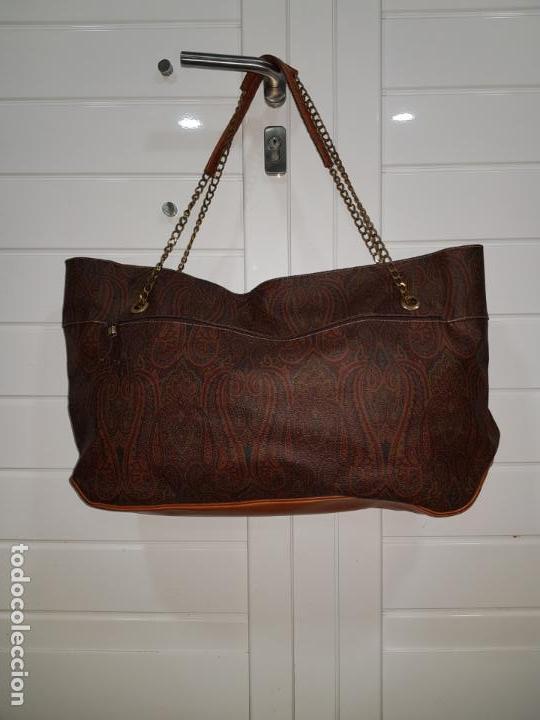 Segunda Mano: Bolso antiguo de mujer de Piel, bolso retro de muy buena calidad. - Foto 11 - 139737302