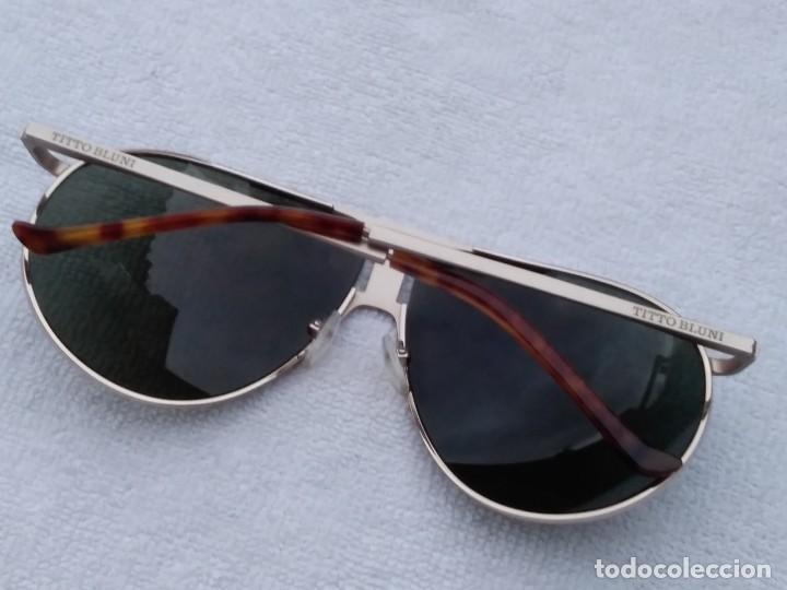 Segunda Mano: Gafas ( TITO BLUNI) LIMITED EDITION.. Cristal normal,9 de 10. no graduado. Muy buen estado. - Foto 4 - 140299410