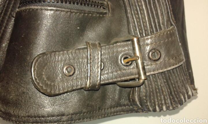 Segunda Mano: Cazadora motorista de cuero, kayatsu, talla 58. - Foto 5 - 142196961