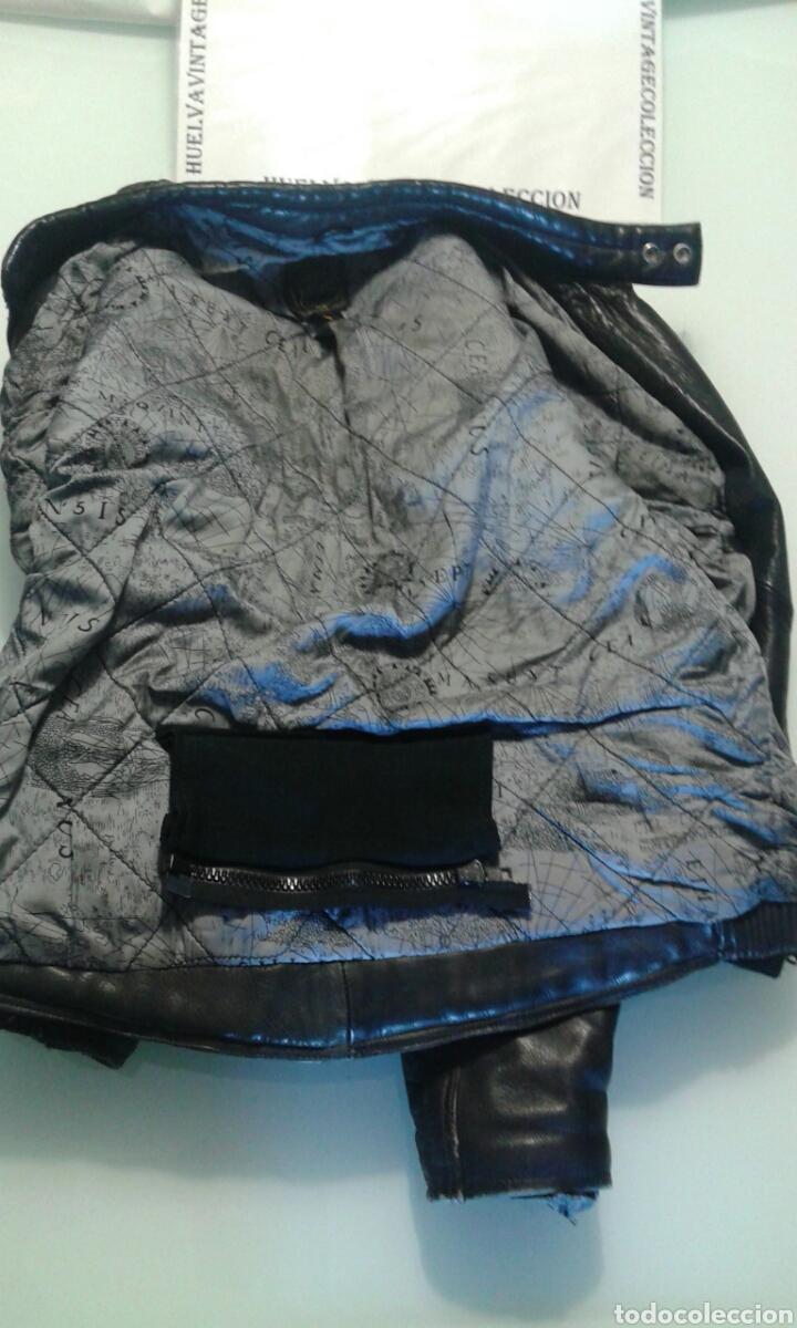 Segunda Mano: Cazadora motorista de cuero, kayatsu, talla 58. - Foto 10 - 142196961