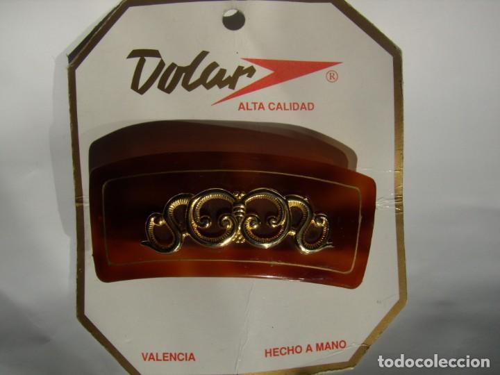 pasador pelo prendedor concha dorados vintage 8e8d76c90870