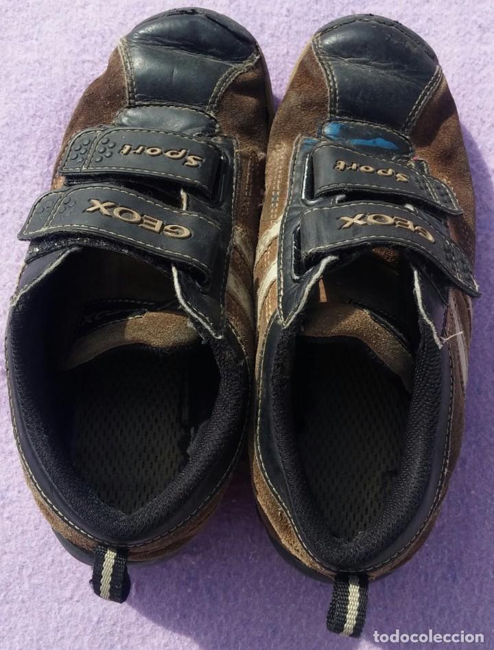 "Escuela Zapatos Juguetes Zapatillas Botas De Niño Calzado 36 Infantil ""geox""Talla ZukOXTPi"