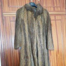 Segunda Mano - Abrigo piel sintética largo - 155448876