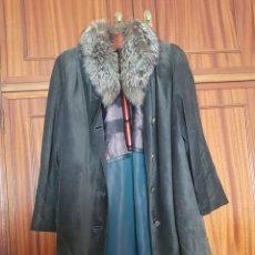 Segunda Mano - Abrigo piel largo capa - 155449517