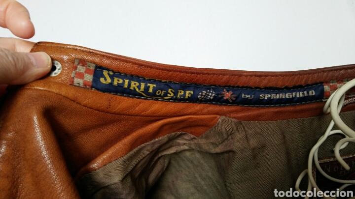 Segunda Mano: Chaqueta en cuero - Springfield - X L - Foto 5 - 158241357