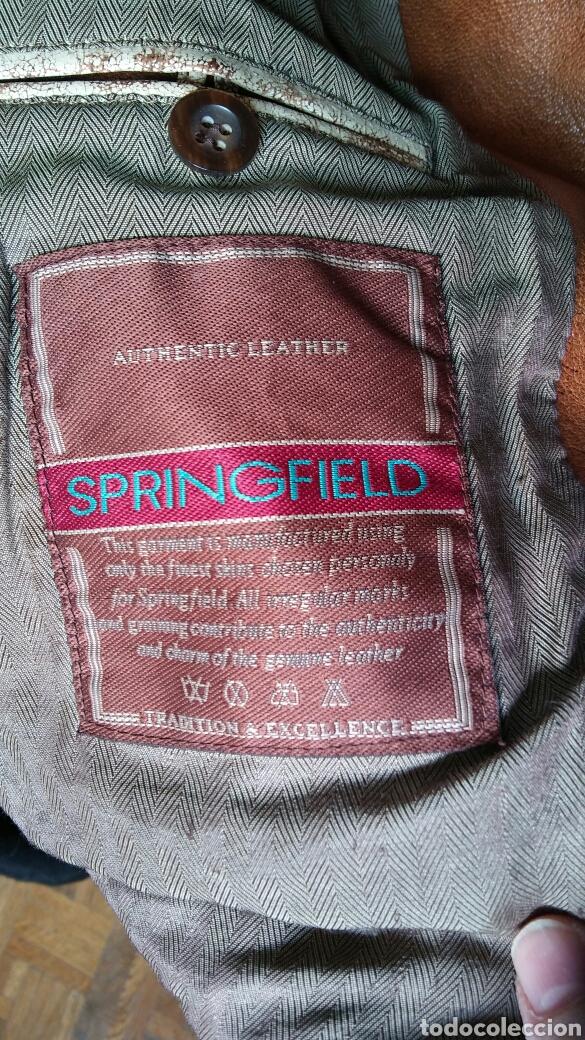 Segunda Mano: Chaqueta en cuero - Springfield - X L - Foto 6 - 158241357
