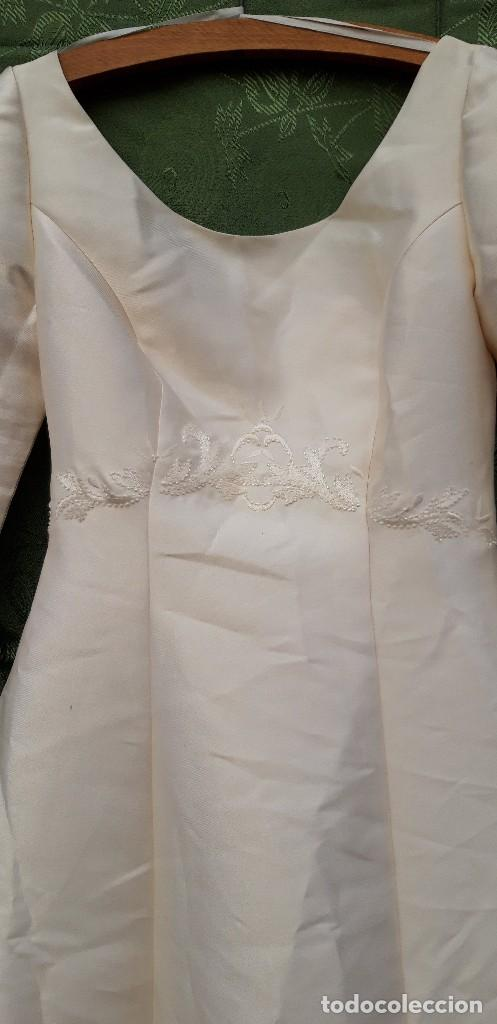 Segunda Mano: Vestido de novia, sin uso, talla 42. - Foto 3 - 158591950