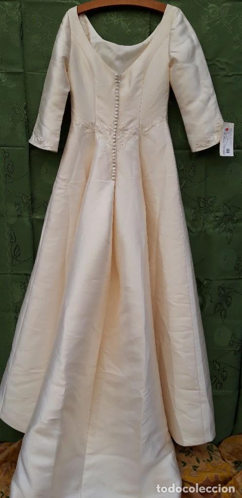 Segunda Mano: Vestido de novia, sin uso, talla 42. - Foto 9 - 158591950