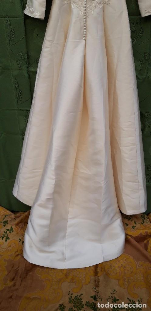 Segunda Mano: Vestido de novia, sin uso, talla 42. - Foto 10 - 158591950