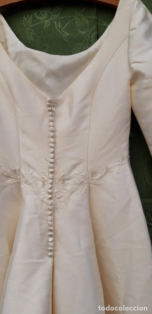 Segunda Mano: Vestido de novia, sin uso, talla 42. - Foto 11 - 158591950