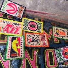 Segunda Mano: COLECCION 7 PARCHES EQUIPOS NBA AÑOS 80 CREO 7,5X5. Lote 162564542