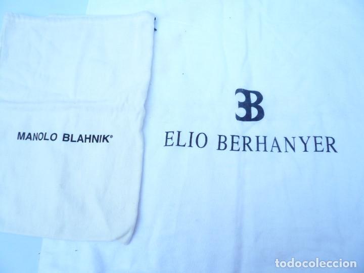 Segunda Mano: BOLSA DE CALZADO. LOTE DE 2: MANOLO BLAHNIK Y ELIO BERHANYER - Foto 9 - 163800446
