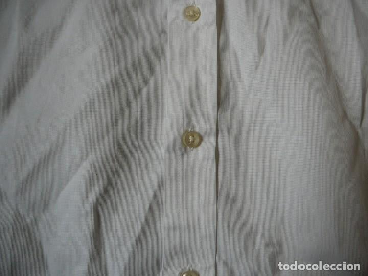 Segunda Mano: Camisa Blanca Massimo Dutti Collezioni. Talla 41. - Foto 6 - 166109694