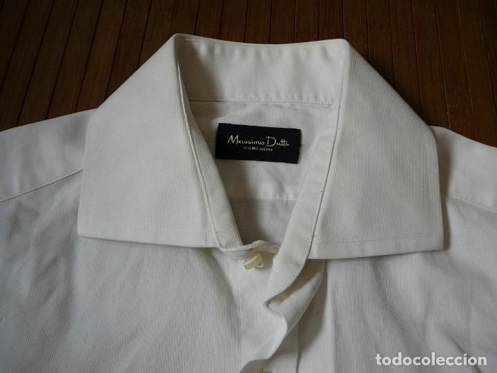 Segunda Mano: Camisa Blanca Massimo Dutti Collezioni. Talla 41. - Foto 9 - 166109694
