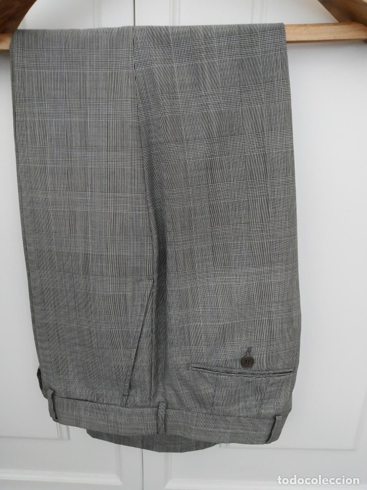 Segunda Mano: Traje chaqueta y pantalon Zara cuadros gris - Foto 2 - 173016198