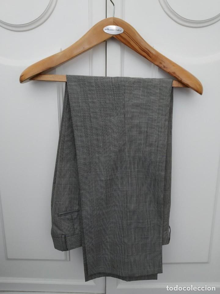 Segunda Mano: Traje chaqueta y pantalon Zara cuadros gris - Foto 3 - 173016198