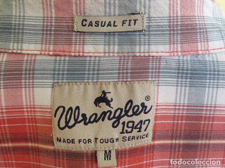 Segunda Mano: camisa Wrangler talla - M - Foto 3 - 173856785