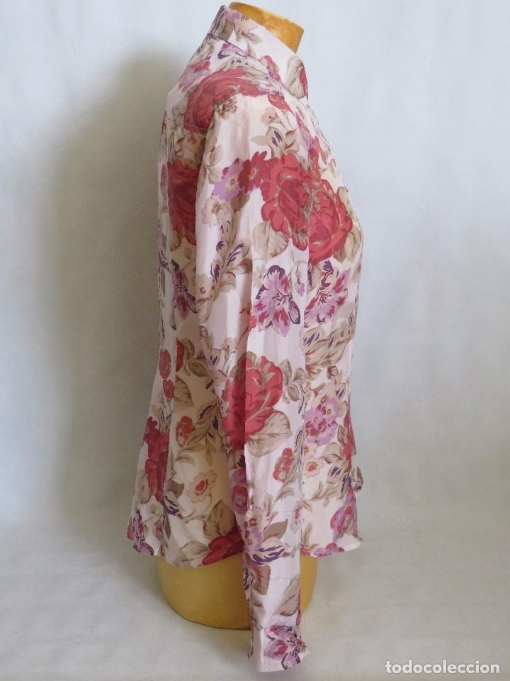 Segunda Mano: Camisa de Massimo Dutti talla 40 ,seda - Foto 3 - 173859845