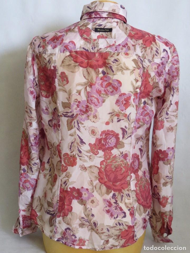 Segunda Mano: Camisa de Massimo Dutti talla 40 ,seda - Foto 5 - 173859845