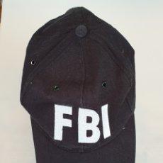 Segunda Mano: GORRA CON LAS SIGLAS FBI. Lote 175309969