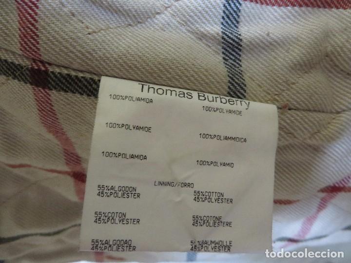 Segunda Mano: Chaqueta THOMAS BURBERRY talla M para hombre - Foto 10 - 175463868