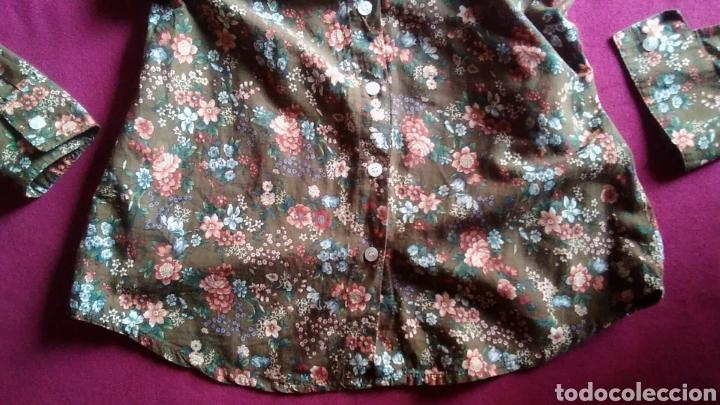 Segunda Mano: Camisa blusa pull and bear manga larga flores talla M 38 - Foto 2 - 176913583