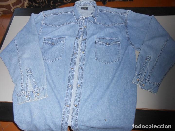 Segunda Mano: CAMISA SPRINGFIELD Jeans- Talla XL - Foto 2 - 179541583