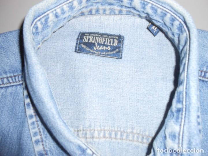 Segunda Mano: CAMISA SPRINGFIELD Jeans- Talla XL - Foto 3 - 179541583