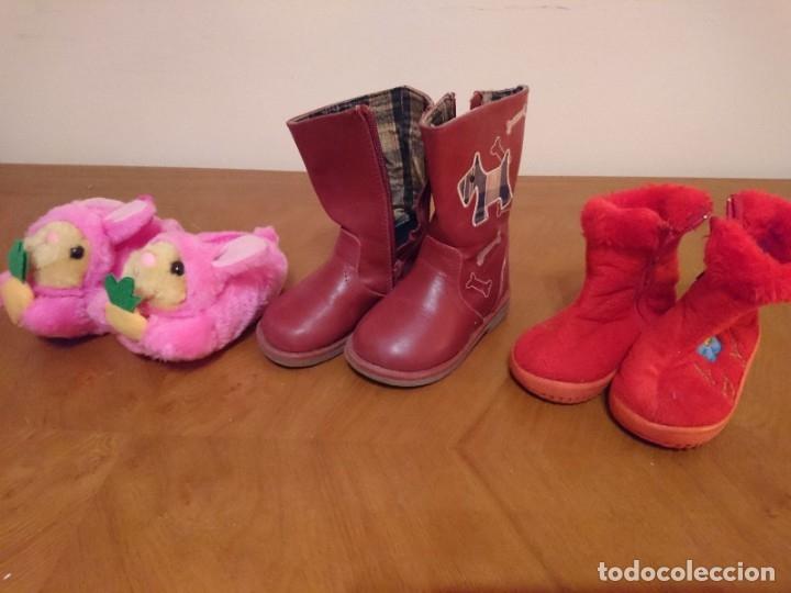Segunda Mano: Lote Zapatos y Botas de Niña - Foto 2 - 182115018
