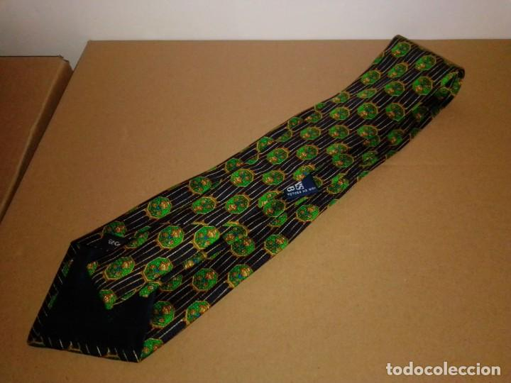 Segunda Mano: Original corbata de seda. Cánovas club. El Corte Inglés. - Foto 2 - 183781267